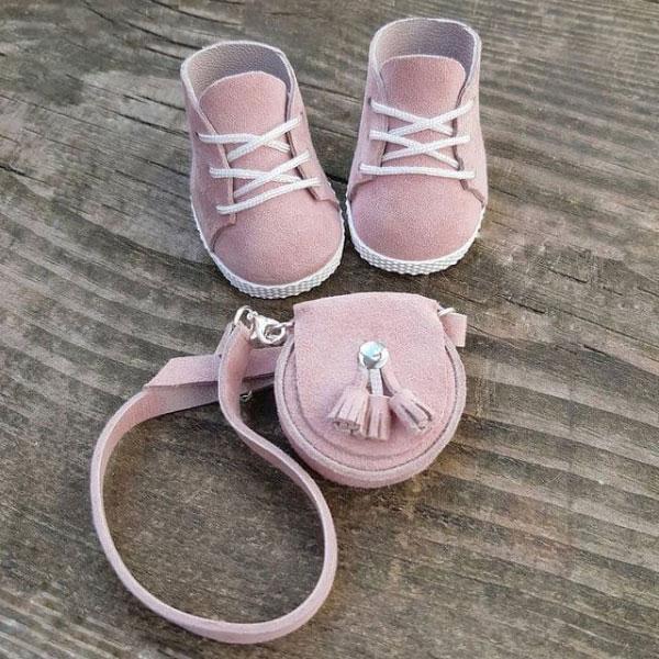 وسایل ساخت کیف و کفش عروسک