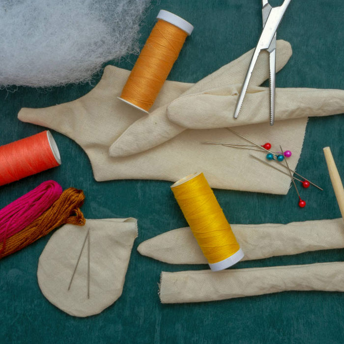 وسایل موردنیاز برای ساخت عروسک